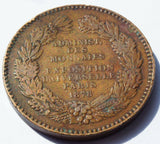 France 1878 International Exposition, Paris. medal by Barre