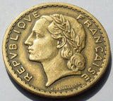1946 France (AFRICAN COLONIES) 5 FRANCS coin