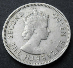 1969 Seychelles Half Rupee Queen Elizabeth II Coin - Confessor the shop for all Collectables Coins Badges Banknotes Medals Tokens militaria