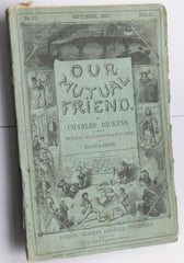 Original CHARLES DICKENS - OUR MUTUAL FRIEND - 1ST EDITION - SEPT 1865 no.17 - Confessor the shop for all Collectables Coins Badges Banknotes Medals Tokens militaria