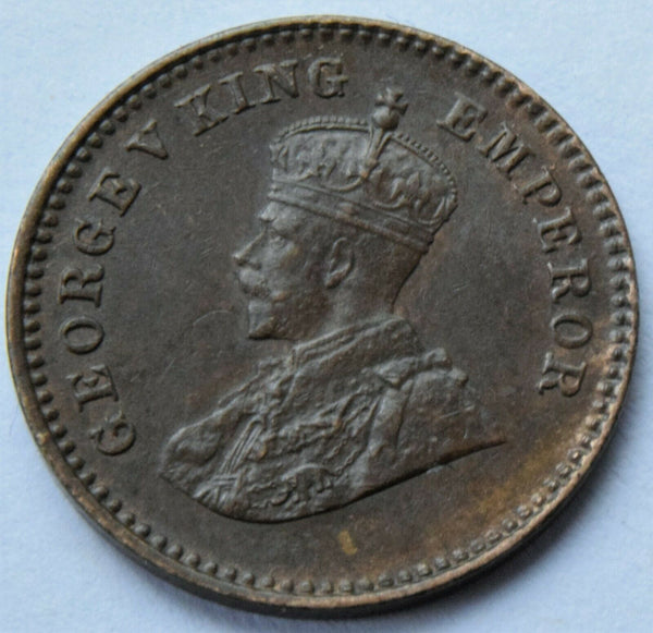 1932  British India King George V  1/12 Anna high grade Coin.