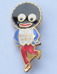 Robertsons Jam Golly Brooch Metal Enamel Lapel Pin Badges