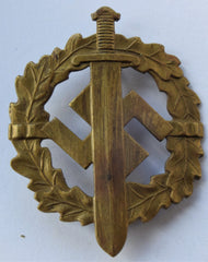 WWII German Army Nazi German Sa Bronze Sports Award Badge