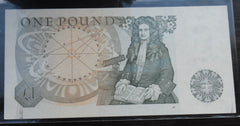 Bank Of England £1 One Pound Banknote J PAGE 70S 388850