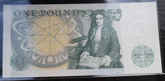 Bank Of England £1 One Pound Banknote D.H.F Somerset  DX56 267737
