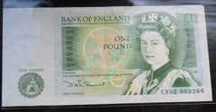 Bank Of England £1 One Pound Banknote D.H.F Somerset  CX02 903266