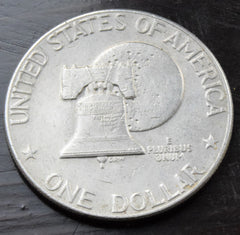 "1976 United States USA Eisenhower ""Ike"" Bicentennial Dollar coin"