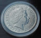 Queen Elizabeth Queen Mother 1900-2000 100th Birthday £5 Five Pound UK Coin