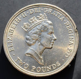 (1689-1989) Tercentenary of the Bill of Rights  £2 Two Pound Commemorative UK Coin