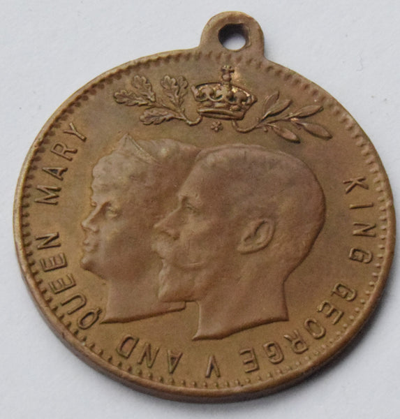1911 King George V and Queen Mary Visit to IRELAND Commemorative Medal