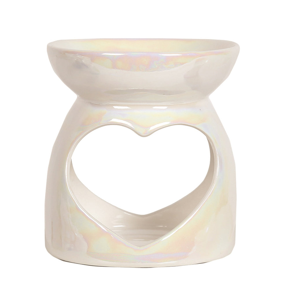 Lustre Heart Tealight  Burner