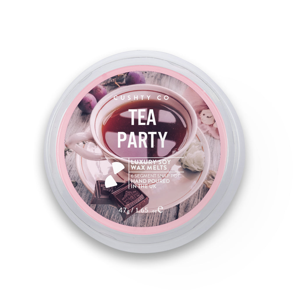 Tea Party Soy Wax Melt