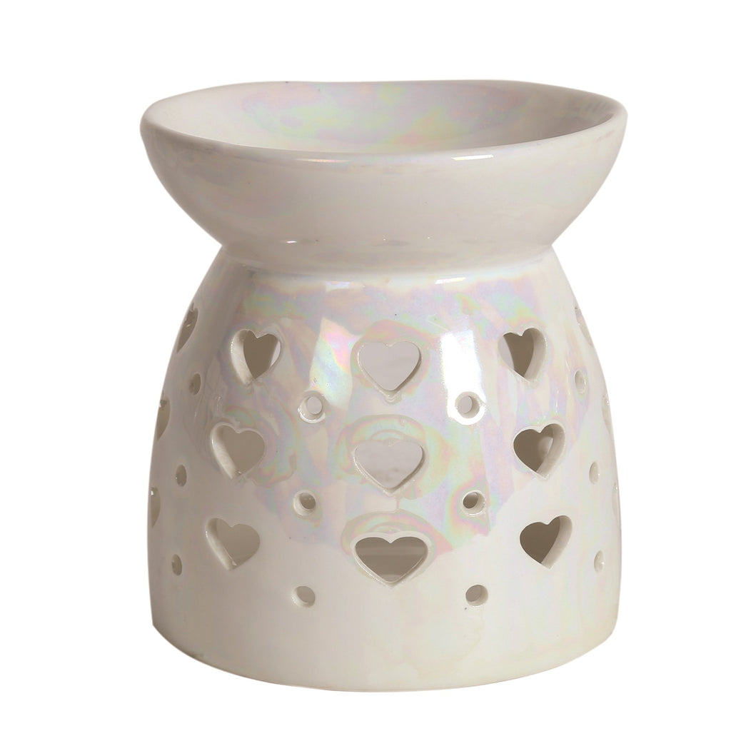 Lustre Hearts Tealight  Burner