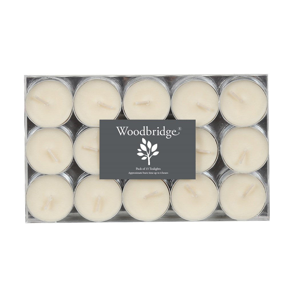 Woodbridge Pack of 15 Tealights