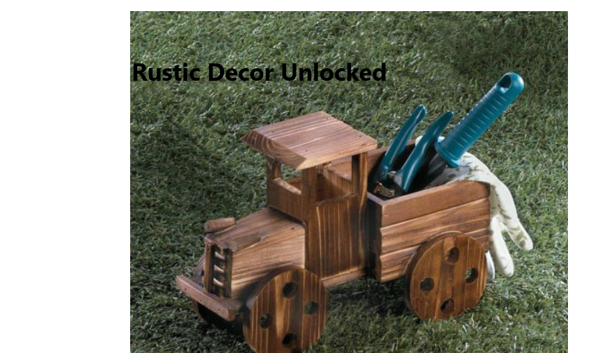 Rustic Decor Unlocked