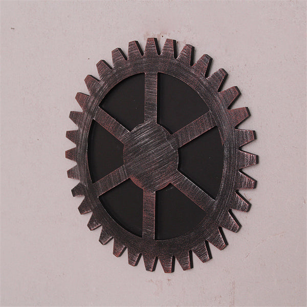 Wooden Gear Wall Decor