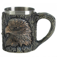 Majestic Eagle Mug with Stainless Steel Insert