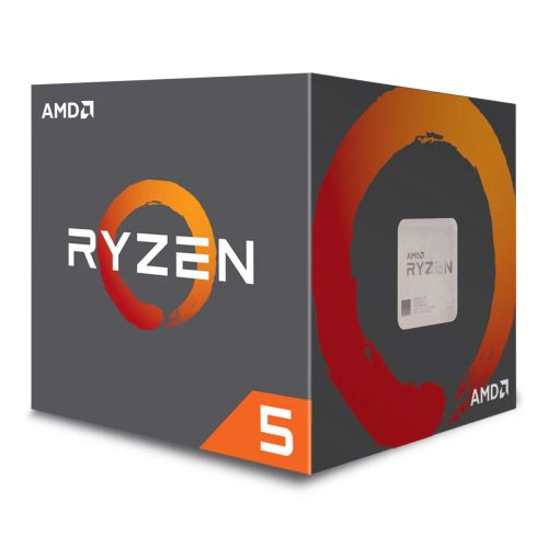AMD Ryzen 5 2600 CPU with Wraith Cooler, AM4, 3.4GHz (3.9 Turbo), 6-Core, 65W, 19MB Cache, 12nm, No Graphics