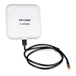 TP-LINK 2.4GHz, 9dBi Outdoor Directional Panel Antenna, 1M, RP-SMA Connector