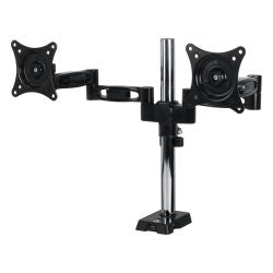"Arctic Z2 Dual Monitor Arm with 4-Port USB 3.0 Hub, For 13"" - 27"" Monitors"