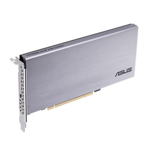 Asus Hyper M.2 x16 Card, Connect 4 x M.2 SSD through the PCIe x8 or x16 slot