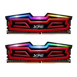 ADATA XPG Spectrix D40 RGB LED 16GB Kit (2 x 8GB), DDR4, 3200MHz (PC4-25600), CL16, DIMM Memory