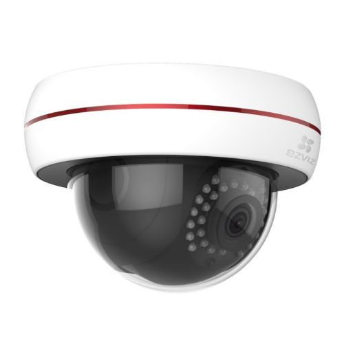 EZVIZ Wireless 1080P C4S (Wi-Fi) Outdoor Dome Camera, 4mm Lens, 30m Night Vision, Vandal Proof, IP66, Micro SD/Cloud Storage