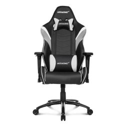 AKRacing Core Series LX Gaming Chair, Black & White, 5/10 Year Warranty