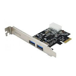 Approx (APPPCI2P3V2) 2-Port USB 3.0 Card, PCI Express