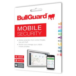 Bullguard Mobile Internet Security (Single), 1 Year, 3 Devices, Retail