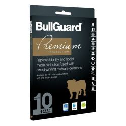 Bullguard Premium Protection 2018 10 User (Single), Retail, Multi Device Licence, 1 Year