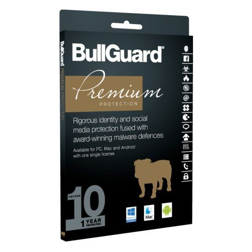 Bullguard Premium Protection 2018 10 User (10 Pack), Retail, Multi Device Licence, 1 Year