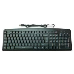 Spire LK811 Wired Keyboard, USB, Multimedia, Spill Resistant, Retail