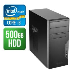 Spire PC, Antec VSK3000B, i3-6100, 4GB DDR4, 500GB, KB & Mouse, No Operating System