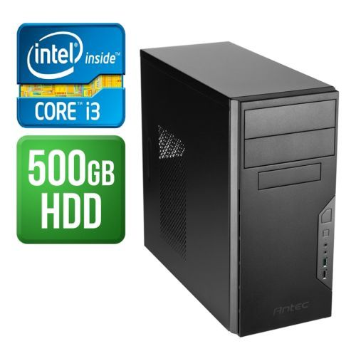 Spire PC, Antec VSK3000B, i3-7100, 4GB DDR4, 500GB, Wireless, KB & Mouse, No Operating System