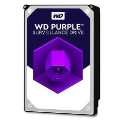 "WD 3.5"", 8TB, SATA3, Purple Surveillance Hard Drive, 5400RPM, 128MB Cache"