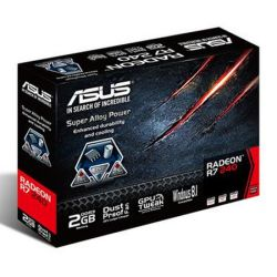 Asus Radeon R7 240, 2GB DDR3, PCIe3, VGA, DVI, HDMI, Low Profile (No bracket)