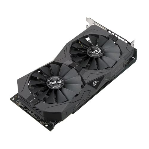 Asus Radeon ROG STRIX RX570 OC, 4GB GDDR5, PCIe3, 2 DVI, HDMI, DP, 1310MHz Clock, RGB Lighting, VR Ready
