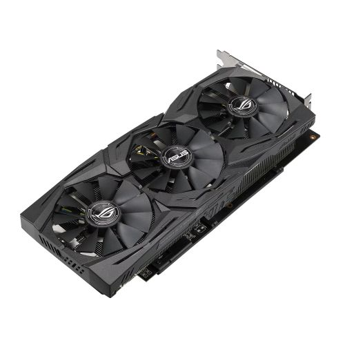 Asus Radeon ROG STRIX RX580 TOP, 8GB DDR5, DVI, 2 HDMI, 2 DP, 1431 MHz Clock, RGB Lighting, VR Ready