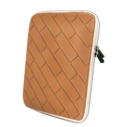 "Approx 10"" Tablet Sleeve, Nylon, Orange (Fits 9"", 9.7"", 10.1"")"