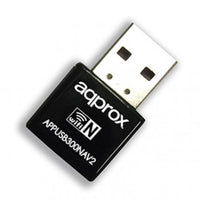 Approx (APPUSB300NAV2) 300Mbps Wireless N Nano USB Adapter, Realtek, Supports Sony PSP