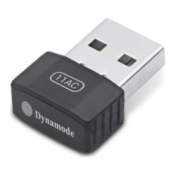 Dynamode (WL-AC-600M) AC600 Wireless Dual Band USB Adapter, 2.4GHz and 5GHz