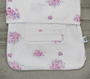 Dusty Rose Slumber Swaddle (with matching beanie)