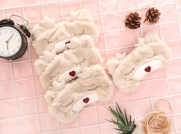 Baby Reindeer Fluffy Mask