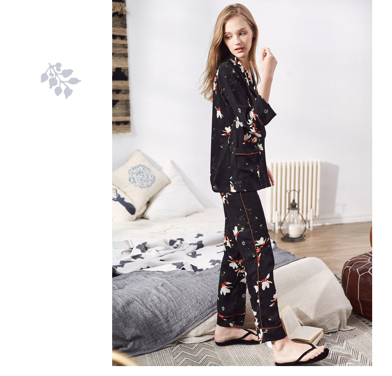 Floral Dusk Bouquet PJ Set