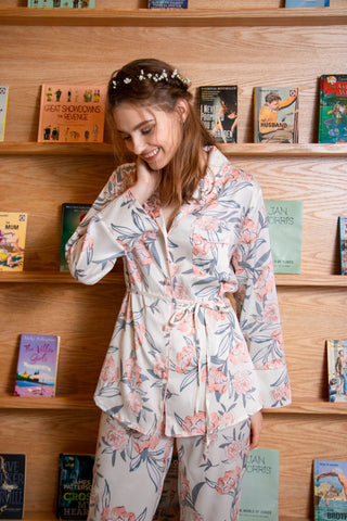[ RESTOCKED ] Whimsical Cactus PJ Set