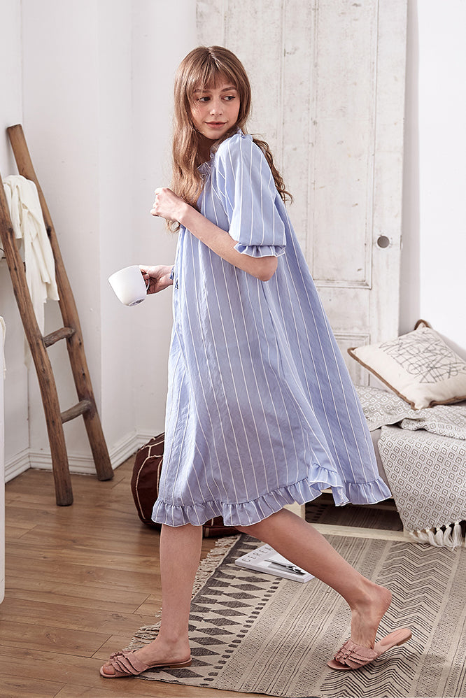Periwinkle Dance Sleep Gown