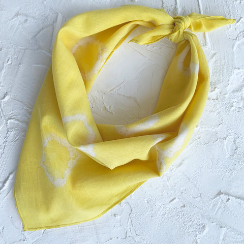 Bandana Yellow Dot