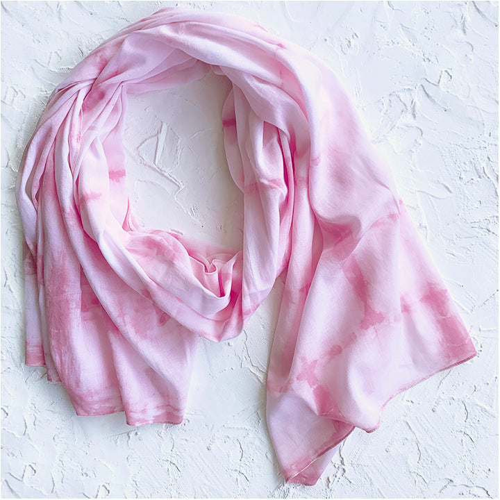 SHEL organic cotton sustainable scarf