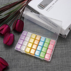 28 Slot Diamond Painting Drill Box - Rainbow Colors